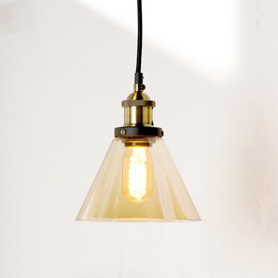 San Marino 1-Light Bowl Pendant