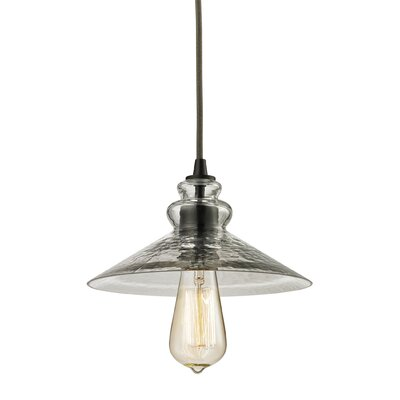 Esteban 1-Light Glass Mini Pendant