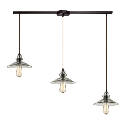 Rancho Mirage 3-Light Kitchen Island Pendant