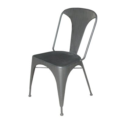 Burgess Solid Metal Dining Chair