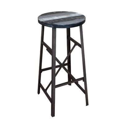 Clayera 28.5 Bar Stool Finish: Black