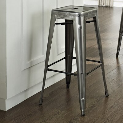 Durango 30 Bar Stool Finish: Galvanized