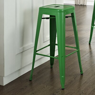 Durango 30 Bar Stool Finish: Green