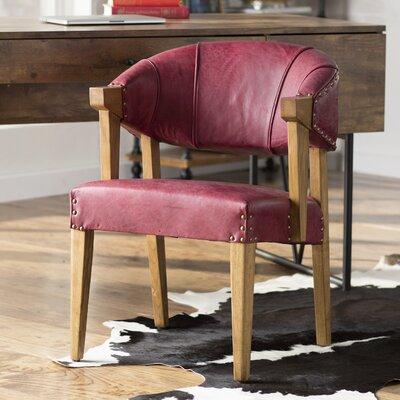 Branchwood Barrel Chair Fabric: Purple