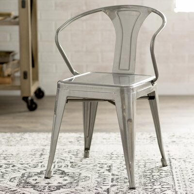 Carmel Side Chair Finish: Gunmetal
