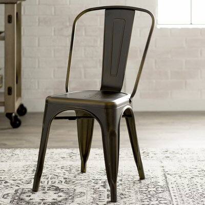 Fineview Dining Side Chair Finish: Antique Copper