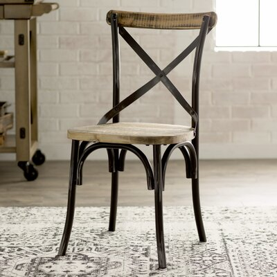 Charnwood Solid Wood Dining Chair Finish: Antique Black
