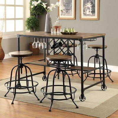 Elise 5 Piece Pub Table Set