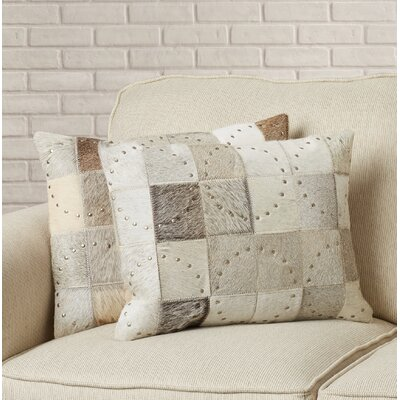 Isaiah Lumbar Pillow Color: Gray