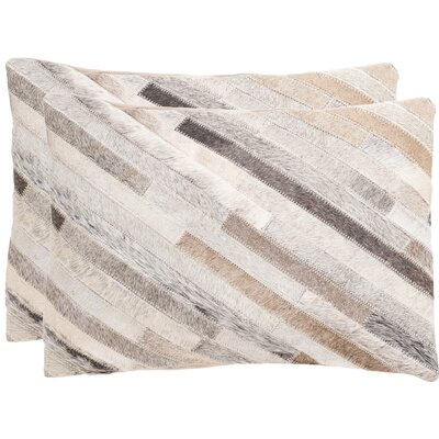 Stepanie Decorative Lumbar Pillow Color: Gray