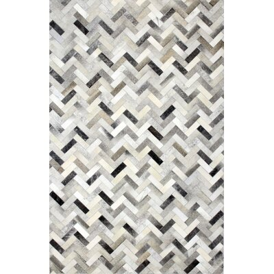 Morrison Cow Hide Area Rug Rug Size: Rectangle 9 x 12