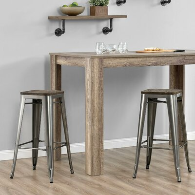 Fortuna 30 Bar Stool Finish: Antique Gun Metal