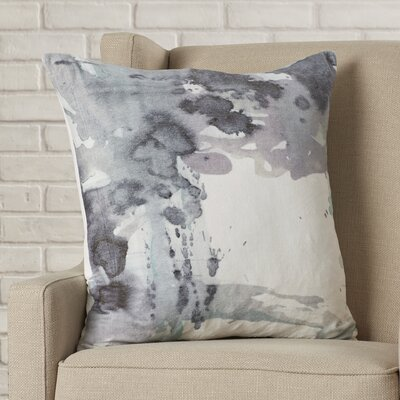 Straun Cloudy Velvet Throw Pillow