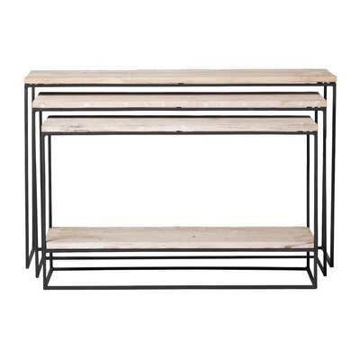 Kassandra 3 Piece Console Table Set