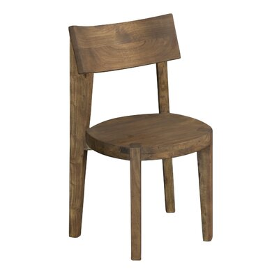 Sonnier Light Brown Solid Wood Dining Chair (Set of 2)