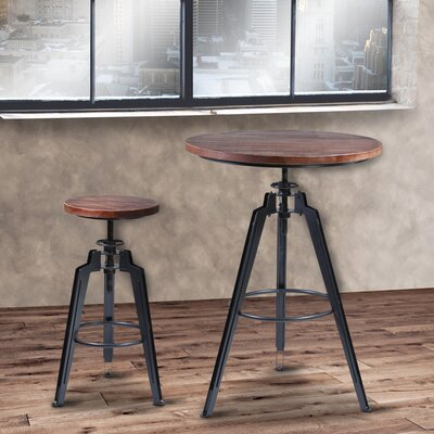 17 Stories Cosmia Adjustable Pub Table
