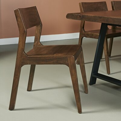 Oak Solid Wood Dining Chair (Set of 2)