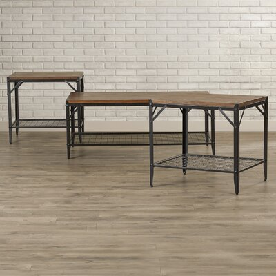 Moraga 3 Piece Coffee Table Set