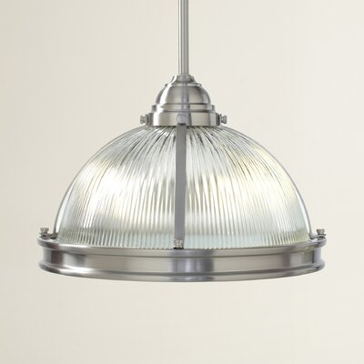 Mariel 2-Light Pendant Finish: Brushed Nickel, Bulb Type: 75 W A-19 Medium
