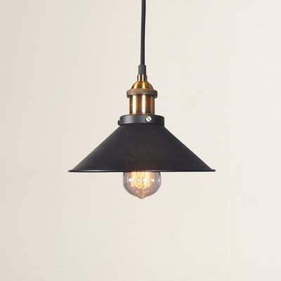 Gemmenne 1-Light Bowl Pendant