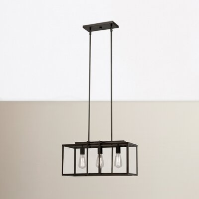 3-Light Kitchen Island Pendant Finish: Rubbed Oil Bronze