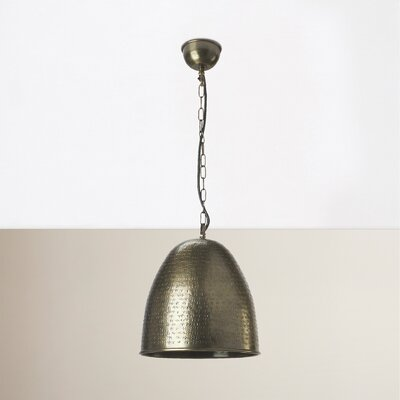 Rosalba 1-Light Bowl Pendant