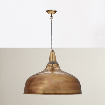 Balsam 1-Light Bowl Pendant