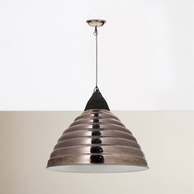 Mischa 1-Light Bowl Pendant