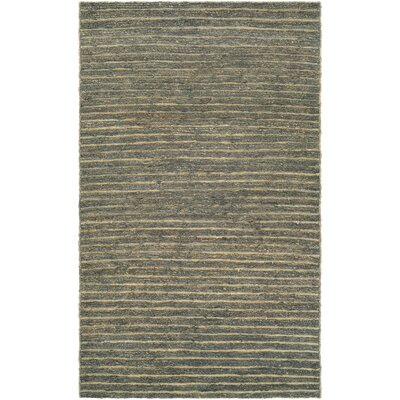 Susanville Hand-Woven Brown/Gray Area Rug Rug Size: 35 x 55