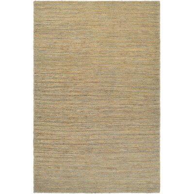 Hand-Woven Bone Area Rug Rug Size: Rectangle 35 x 55