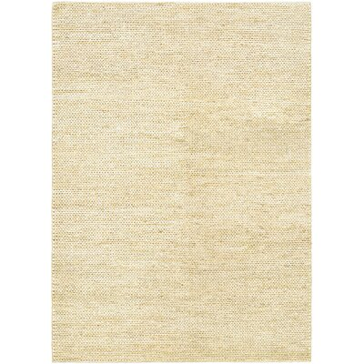 Uhlig Hand-Woven Cream Area Rug Rug Size: Rectangle 35 x 55