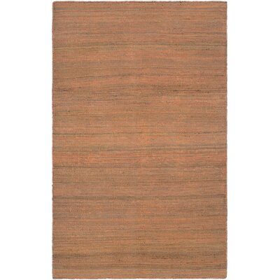 Susanville Hand-Woven Rust Area Rug Rug Size: Runner 23 x 710