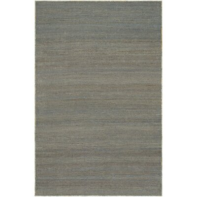 Uhlig Hand-Woven Blue Area Rug Rug Size: Rectangle 53 x 76