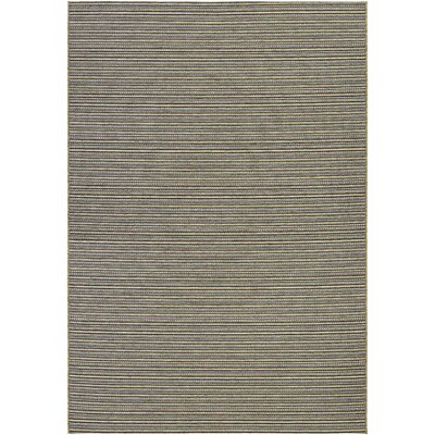 Napa Brown Indoor/Outdoor Area Rug Rug Size: 53 x 76