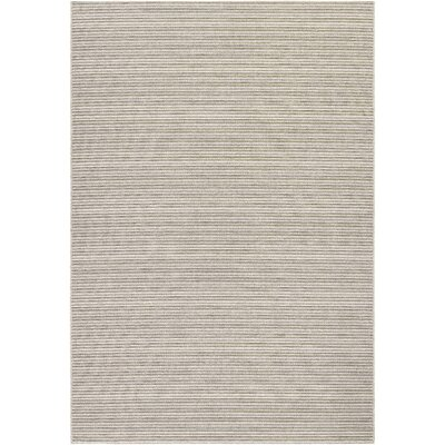 Napa Light Blue/Greyish Silver Indoor/Outdoor Area Rug Rug Size: 2 x 37