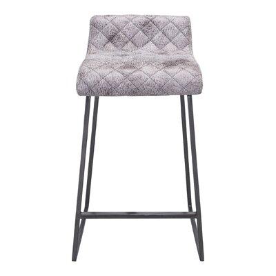 Leduc 26.4 Bar Stool Upholstery: Vintage White