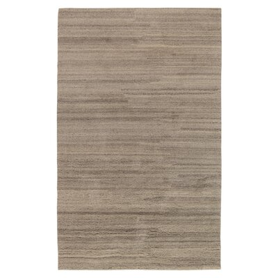 Acton Hand-Knotted Cream Area Rug Rug Size: 9 x 12