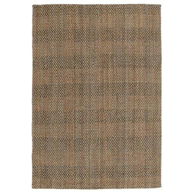 Acushnet Hand-Woven Slate/Gray Area Rug Rug Size: 5 x 8
