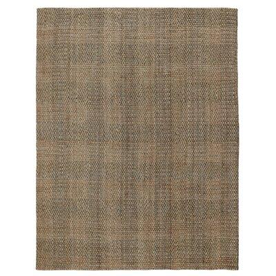 Acushnet Hand-Woven Slate/Gray Area Rug Rug Size: 8 x 10