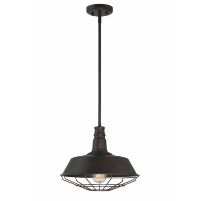 Juneau 1-Light Bowl Pendant Finish: Oil Rubbed Bronze