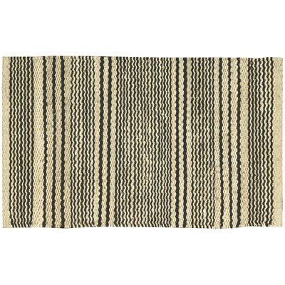 Albury Black Area Rug Rug Size: Rectangle 18 x 28