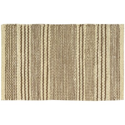 Albury Brown/Beige Area Rug Rug Size: Rectangle 18 x 28