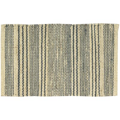 Albury Cream/Navy Area Rug Rug Size: Rectangle 23 x 39
