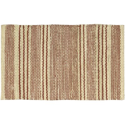 Abbotsford Red Area Rug Rug Size: 1'8