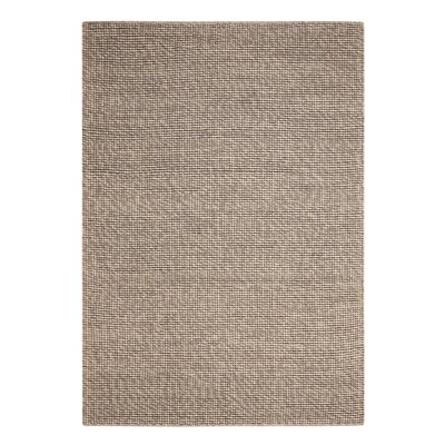 Abymes Quadrant Hand-Woven Gray Area Rug Rug Size: 79 x 99
