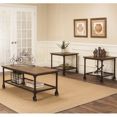 C�dric 3 Piece Coffee Table Set