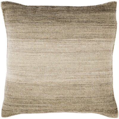 Boyd Wool Throw Pillow Size: 22 H x 22 W x 4 D, Color: Olive