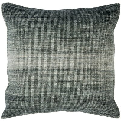 Boyd Wool Throw Pillow Size: 18 H x 18 W x 4 D, Color: Moss