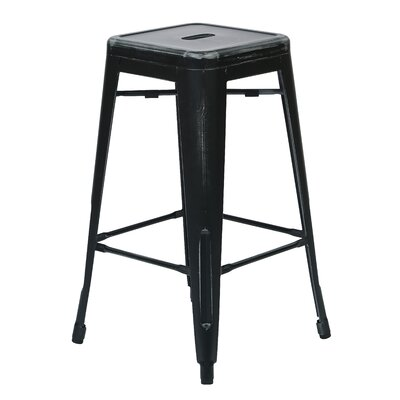 Fineview 26 Bar Stool Finish: Antique Black