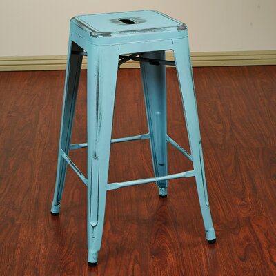 Fineview 26 Bar Stool Finish: Antique Sky Blue